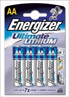 Afbeelding van Energizer Lithium AA Pennlight 4 stuks in blister art.nr. 89641