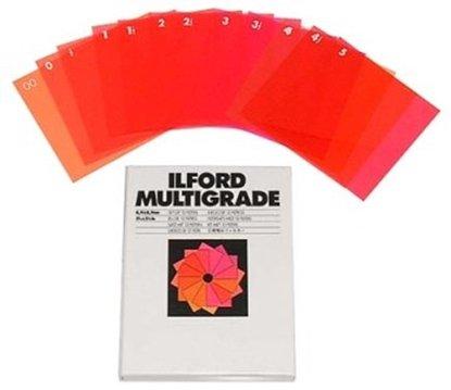 Afbeelding van Ilford Multigrade filter set 15,2x15,2cm 12 filters art.nr. 58743