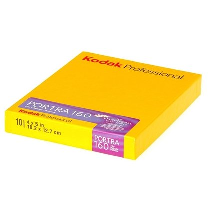 Afbeelding van Kodak Portra 160 4x5 inch vlakfilm kleurennegatief 10 vel art.nr. 52679
