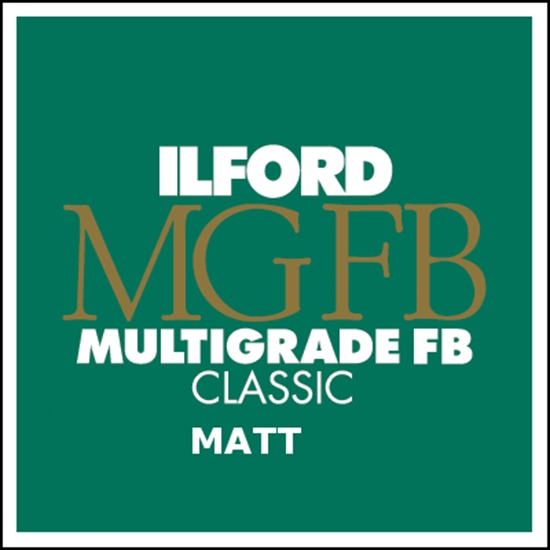 Afbeelding van Ilford Bariet MGFB5K 40,6x50,8 cm 50 vel Classic Fiber Mat art.nr. 1834075