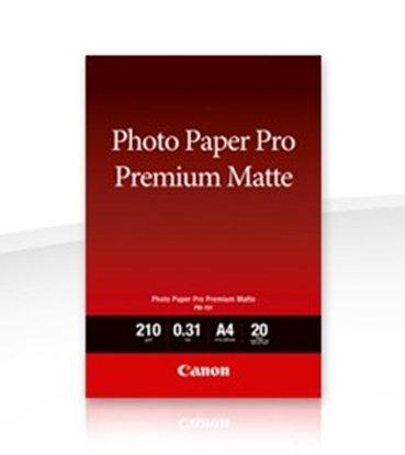 Afbeelding van Canon PM-101 Pro Premium Matte Photo Paper A4 20 vel 210gr. art.nr. 87950