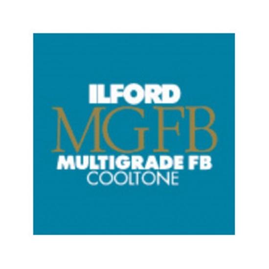 Afbeelding van Ilford MGFBCT1K 17,8x24 cm 100 vel Multigrade Fiber Cooltone Glans art.nr. 10321