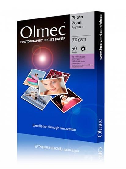 Afbeelding van Olmec Photo Pearl Premium A4 310 gr. 50 vel art.nr. 69592