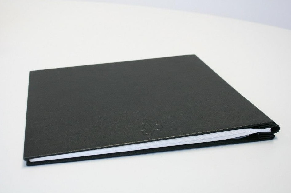 Afbeelding van Hahnemuehle Album Zwart Leder A3 Landscape art.nr. 64488