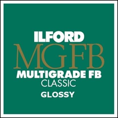 Afbeelding van Ilford Bariet MGFB1K 20,3x25,4 cm 100 vel Classic Fiber Glans art.nr. 1833489