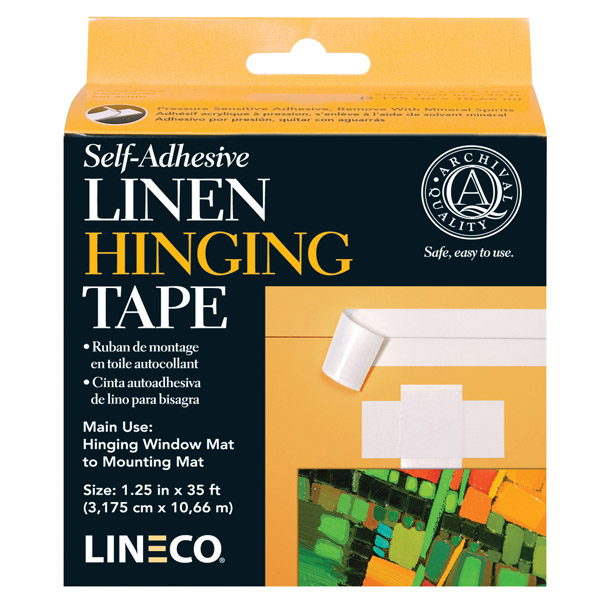 Afbeelding van Lineco Linnen plakband 32mm x 10,7mtr art.nr. 26686