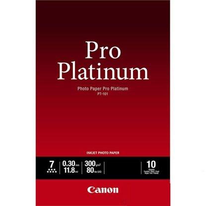 Afbeelding van Canon PT-101 Pro Platinum Photo Paper High Gloss A3+ 10 vel 300gr art.nr. 385944905