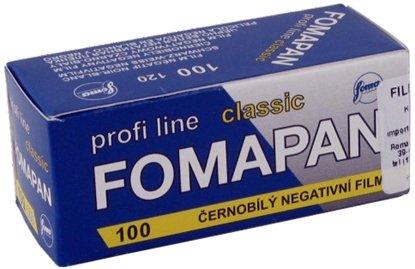 Afbeelding van Fomapan 100 Classic 120 rolfim art.nr. 89436
