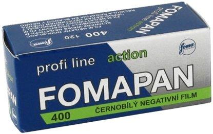 Afbeelding van Fomapan 400 Action 120 rolfim art.nr. 85920