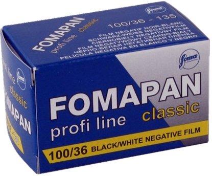 Afbeelding van Fomapan kleinbeeld zwartwit 100 Classic 135-36  art.nr. 89587