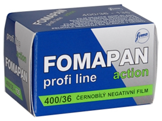 Afbeelding van Fomapan kleinbeeld zwartwit 400 Action 135-36 art.nr. 93365