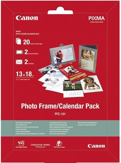 Afbeelding van Canon PFC 101 Photo Frame Calender Pack 13x18 275gr art.nr. 411404870