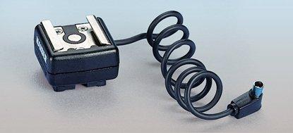 Afbeelding van Kaiser Flits schoen adapter met synchro kabel 1301 art.nr. 37896