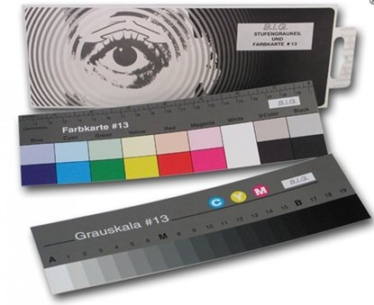 Afbeelding van Kodak B.I.G. Q-13 Color Separation Guide and Grey Scale Small art.nr. 56572