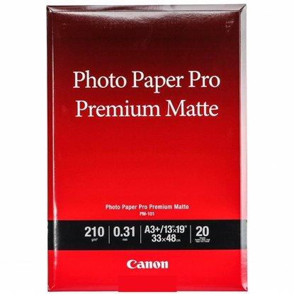 Afbeelding van Canon PM-101 Pro Premium Matte Photo Paper A3Plus 20 vel 210gr. art.nr. 18331