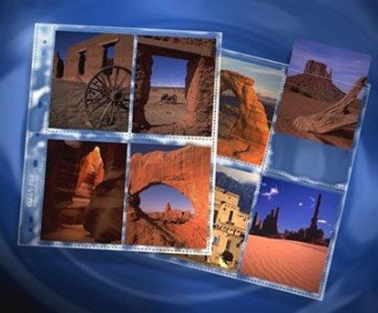 Afbeelding van ClearFile Negatief opbergbladen 4x5 inch polypropyleen 25 stuks art.nr. 21436