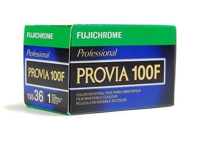 Afbeelding van Fujifilm Fujichrome Provia 100F diafilm kleinbeeld 135-36  art.nr. 22415151