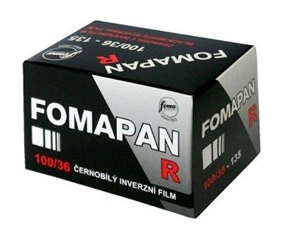 Afbeelding van Fomapan R 100 135-36 kleinbeeld zwartwit diafilm  art.nr. 21873