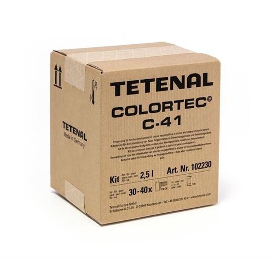 Afbeelding van Tetenal Colortec C-41 kleurennegatief ontwikkelkit 2,5 ltr. art.nr. 21915