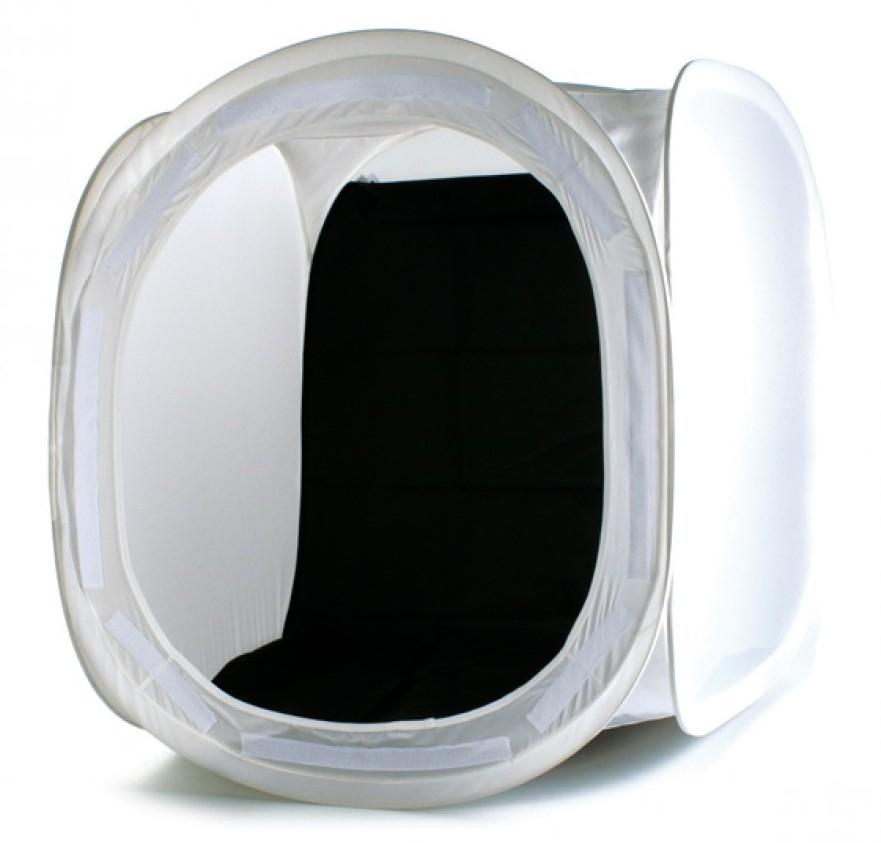 Afbeelding van Helios foto opnametent 60x60 cm voor productfotografie zonder schaduwen art.nr. 84711
