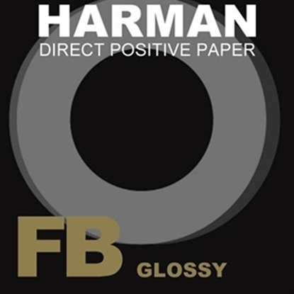 Afbeelding van Ilford Harman Direct Positive Paper FB1K Fiber Based Glans, 20,3x25,4cm 25 vel art.nr. 10202