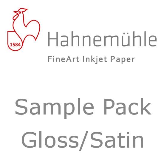 Afbeelding van Hahnemuehle Sample Trial Pack Fine Art Glans - Satin A4 7 vel art.nr. 365617149