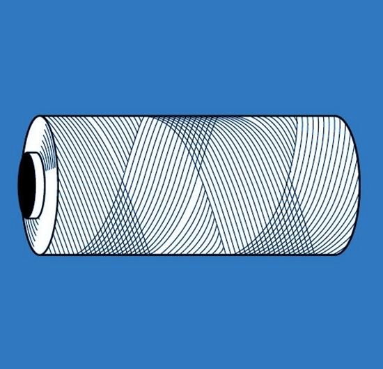 Afbeelding van Nylonkoord dikte 1,5mm lengte 100 mtr. art.nr. 85990