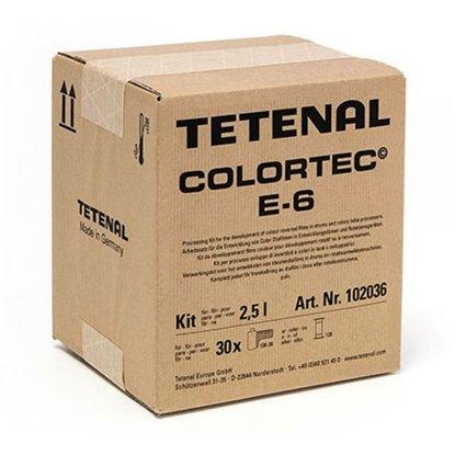 Afbeelding van Tetenal Colortec E6 3 bads diafilm ontwikkelkit 2,5 liter art.nr. 8358161