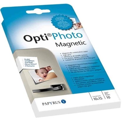 Afbeelding van Opti Photo Magnetic 10x15cm 10 vel Glans 350gr. art.nr. 94456