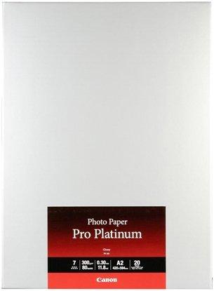 Afbeelding van Canon PT-101 Pro Platinum Photo Paper High Gloss A2 20 vel 300gr art.nr. 96356
