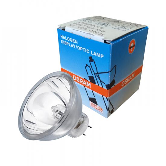 Afbeelding van Osram Halogeenlamp met spiegel GZ6.35 100W 12V HLX 64627 art.nr. 9604