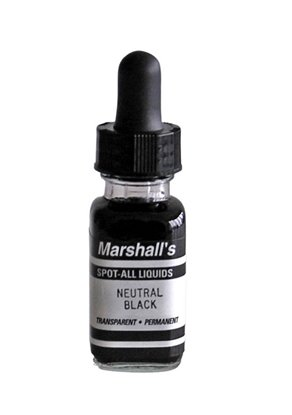 Afbeelding van Marshall's Spot All zwartwit retouche 15ml neutraal zwart art.nr. 10902