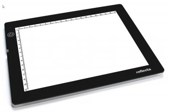 Afbeelding van Reflecta LED negatief- en dialichtbak A5 art.nr. 78457