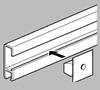 Afbeelding van ArtiTeq Click Rail primer wit 200cm type 9.4348 art.nr. 10472