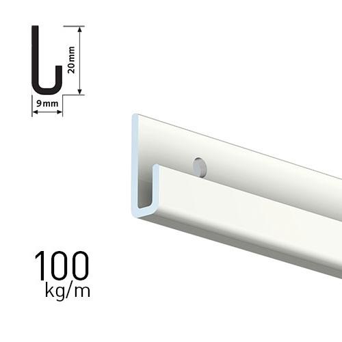 ArtiTeq Classic Rail Plus type 9.4318 lengte 200 cm