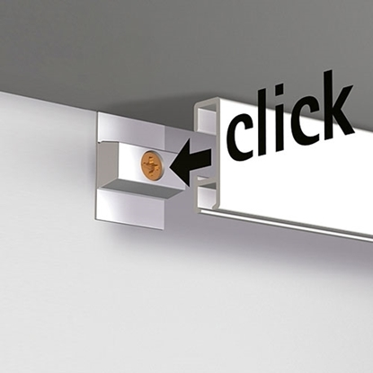 Artiteq montage set voor 2 meter Click rail