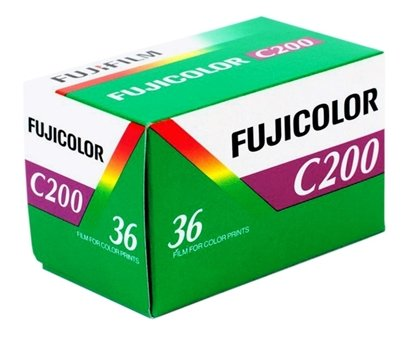 Fujicolor Kleinbeeld C200 135-36