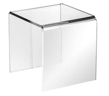 Plexiglas standaard transparant 15x15x15cm