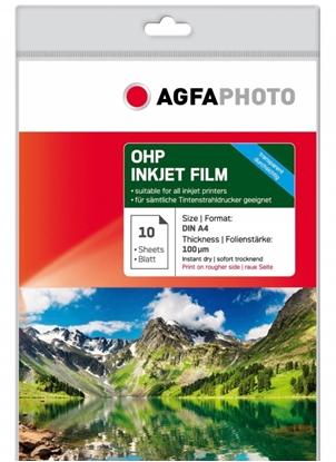 AgfaPhoto OHP Inkjet Film 100 mju A 4 10 vel