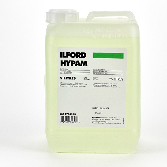 Ilford Hypam 5 ltr Fixeer voor films en papier