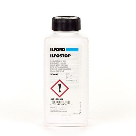 Ilford ilfostop 500 ml stopbad