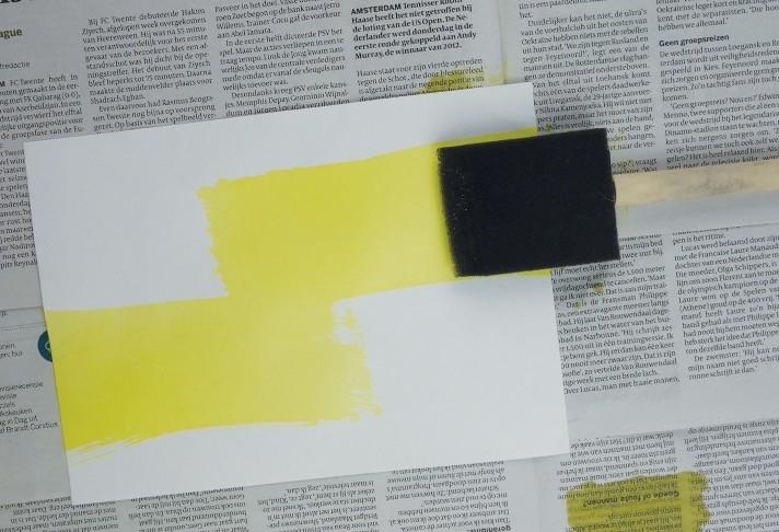 PAR Kwast de mix op papier