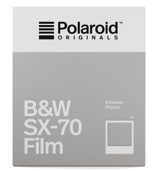 Polaroid SX70 Zwartwit