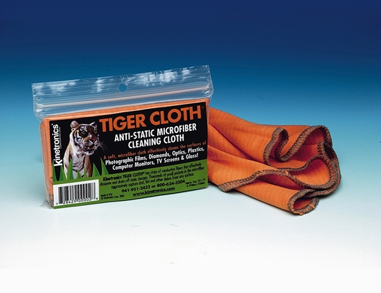 Kinetronics Tiger Cloth anti static micro fber cleaning cloth