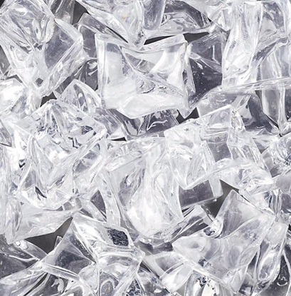 Kunststof ijsbrokjes 20-25mm groot 12 stuks ca. 330ml