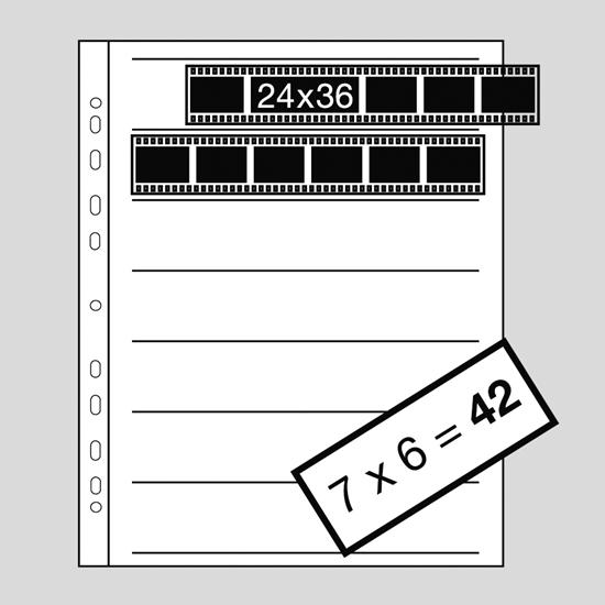 Kaiser negatiefbladen kleinbeeld acetaat 100 vel