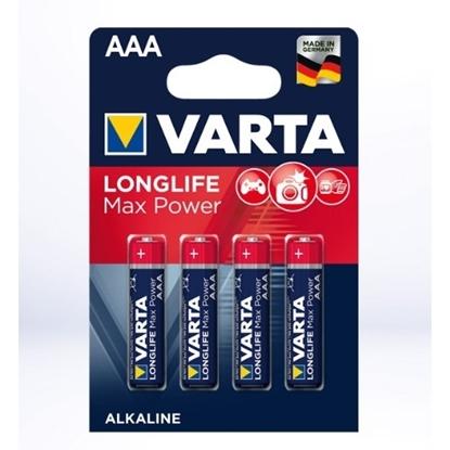 Varta Max Power Alkaline AAA batterij 1,5 V 4 stuks
