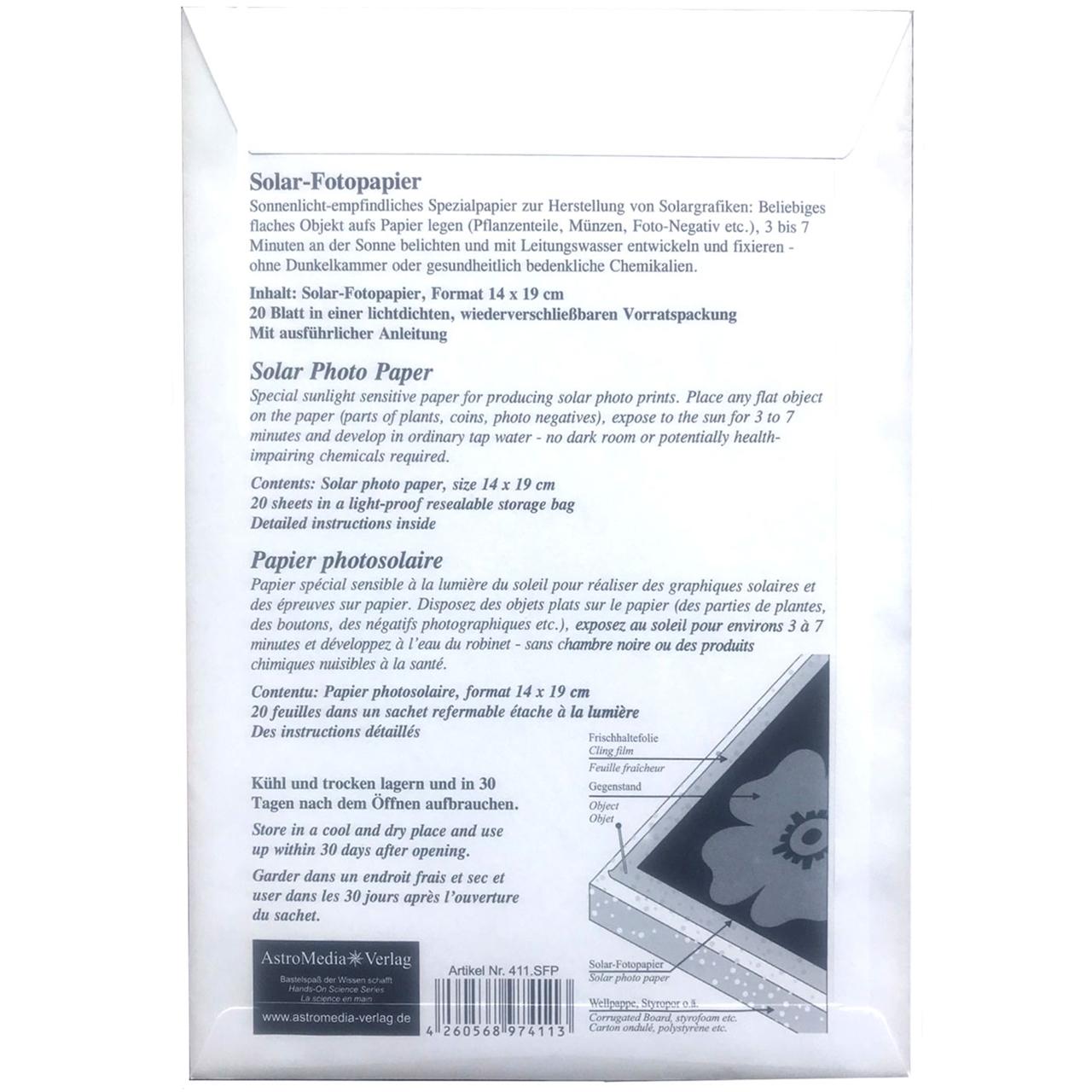 Solar Foto papier 14x19cm 20 vel 2