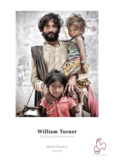 Hahnemuehle William Turner 310 gr A3 25 vel