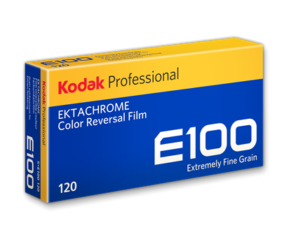Kodak Ektachrome E100 120 rolfilm 5 PACK